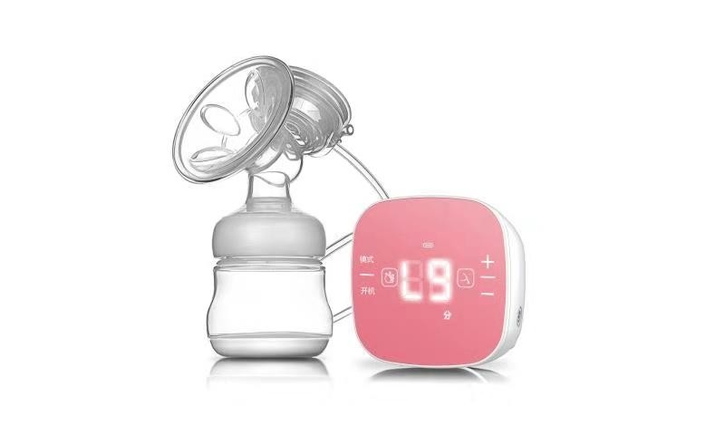 Portable Electric Breast Pump , Automatic Breast Pump Custom Printing Logo